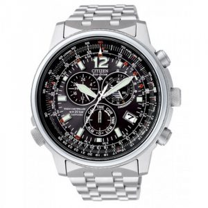 Cronografo Citizen Pilot Radiocontrollato Eco-Drive Uomo AS4020-52E
